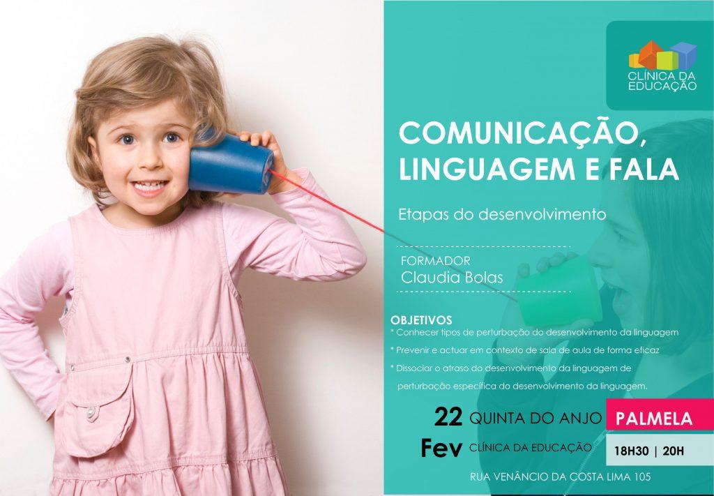 Comunicação, linguagem e fala – etapas de desenvolvimento