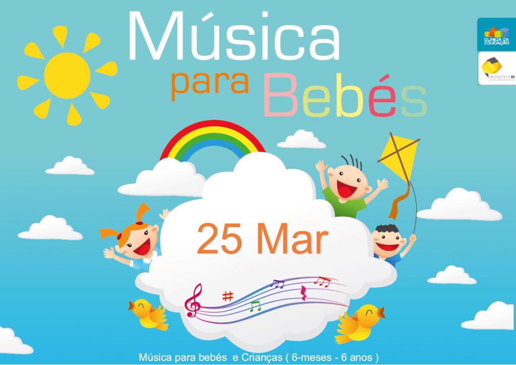 Música para bebés e crianças regressa a 25 de Março