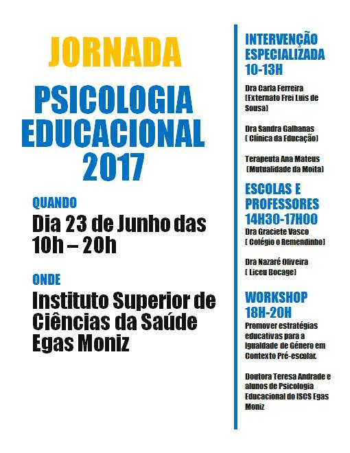 Jornada Psicologia Educacional 2017