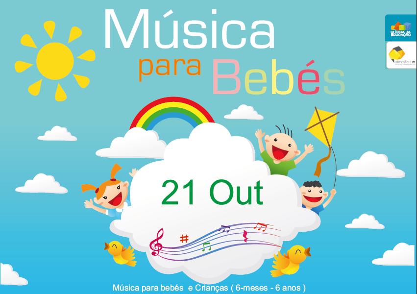 Música para bebés e crianças 21 Outubro – inscrições abertas