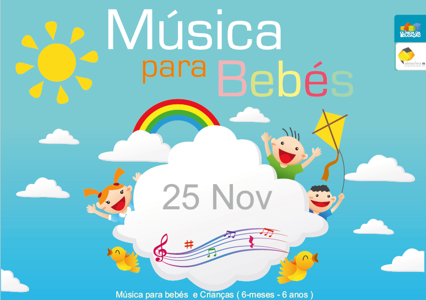 Música para bebés e crianças volta a 25 Novembro