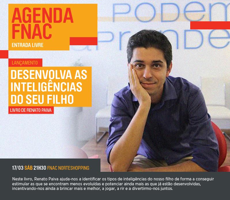 Desenvolva as inteligências do seu filho – Livro de Renato Paiva