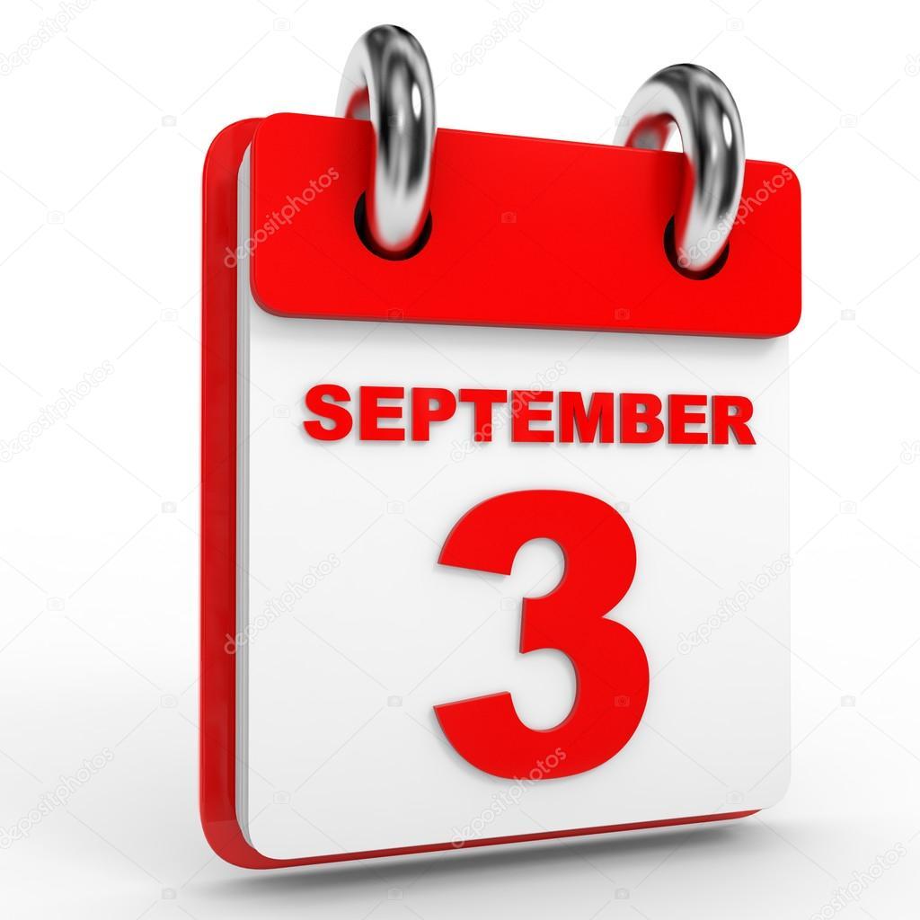 De regresso a 3 Setembro
