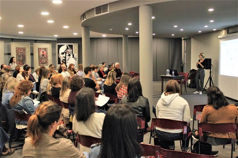 Workshop obrea gestão do tempo e do Stress com casa cheia