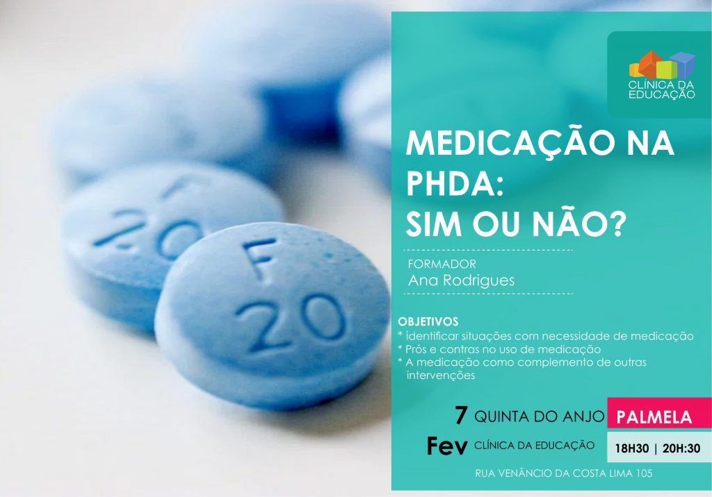 Medicação na PHDA: Sim ou não?
