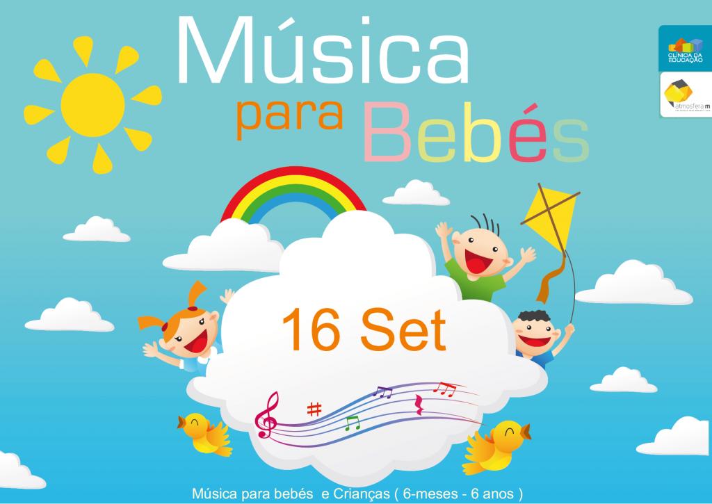 Musica para bebés e crianças volta a 16 Setembro