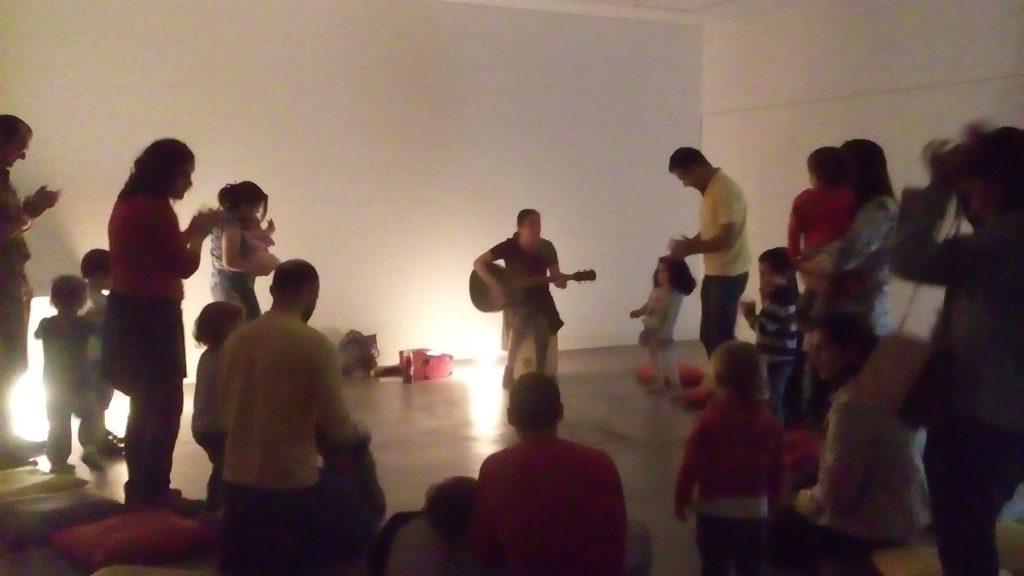 2 grupos cheios nas sessões de música de Outubro
