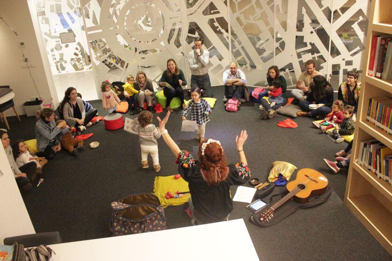 Sessão de Setembro de Música para bebés
