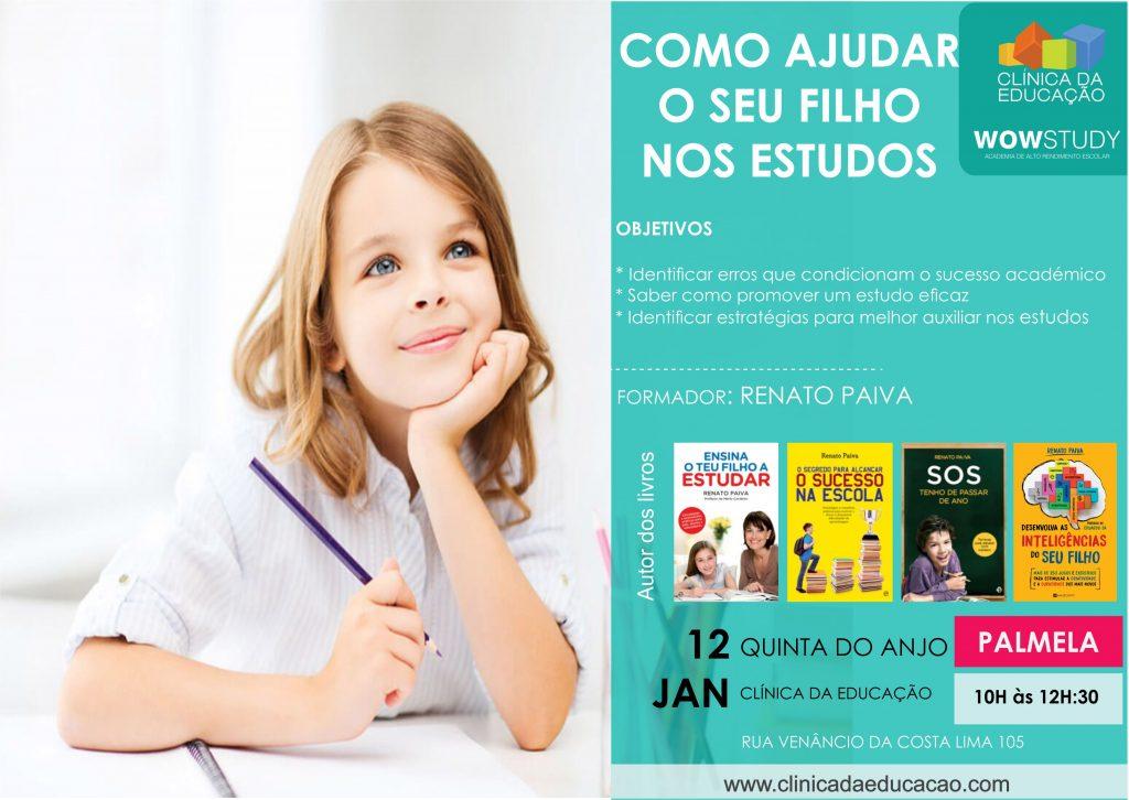 Como ajudar os filhos nos estudos – 12 Jan