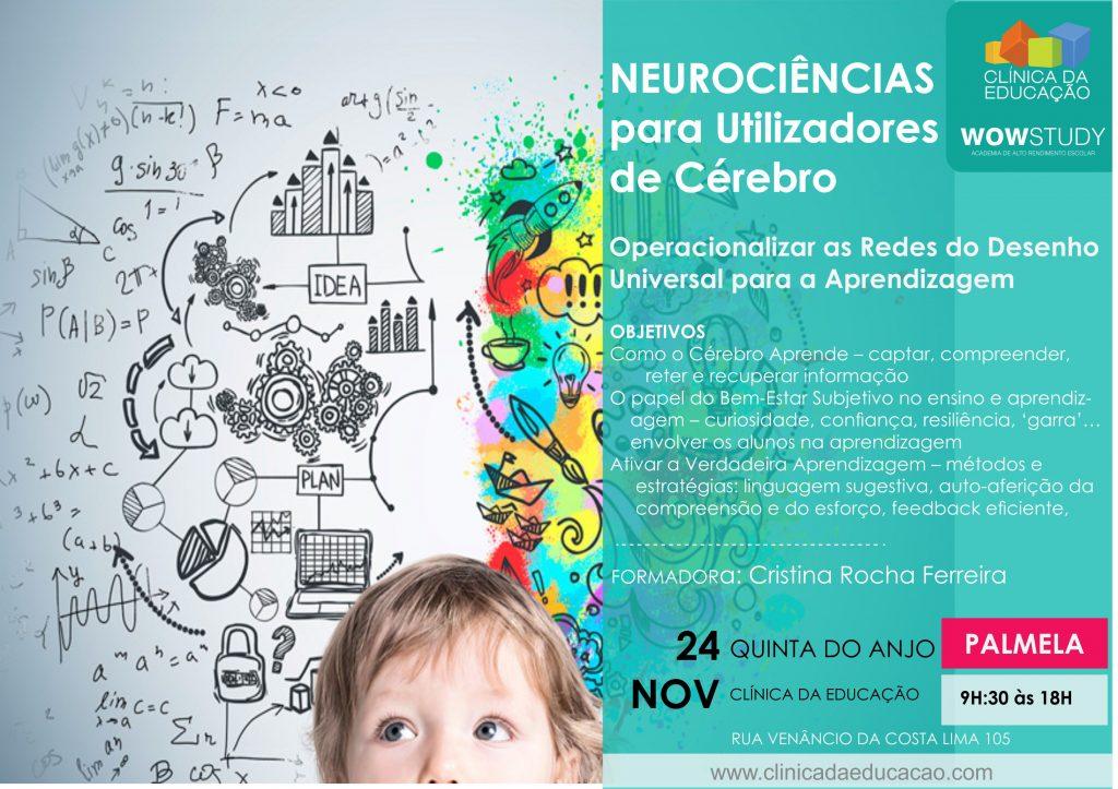 Neurociências para Utilizadores de Cérebro – Operacionalizar as Redes do Desenho Universal para a Aprendizagem