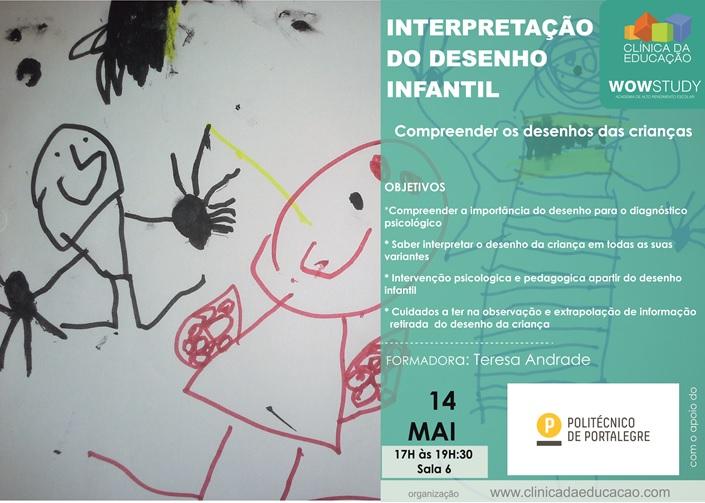 Interpretação do desenho infantil – 14 Maio – Portalegre